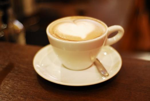 coffe heart